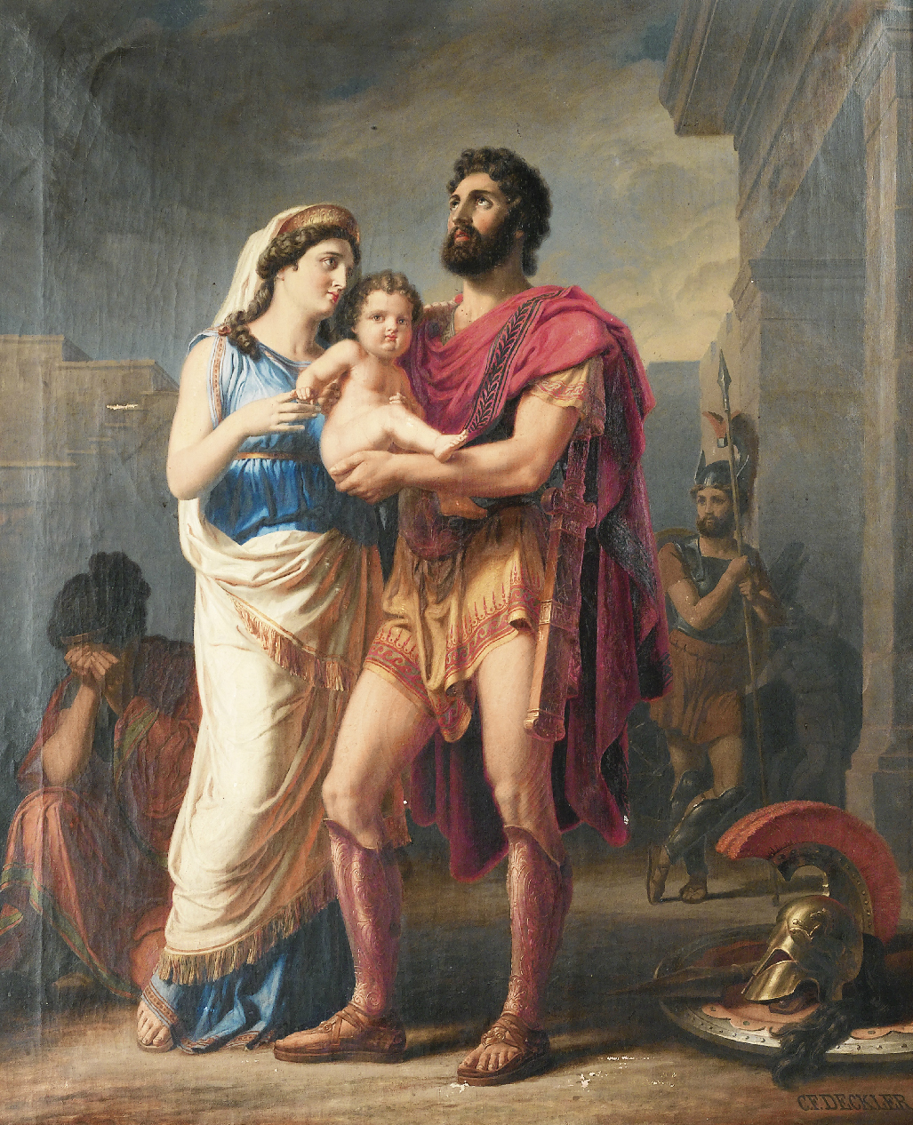 characterization of the hero achilles in the illiad by homer